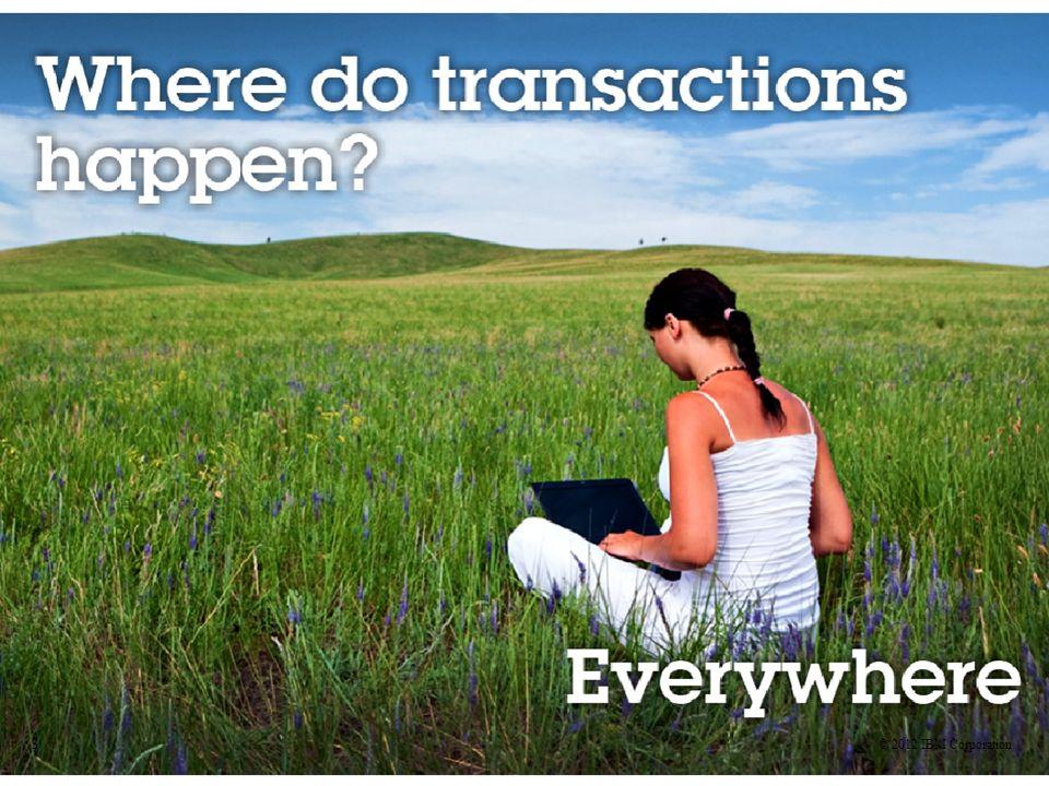 ¿Qué hay de las transacciones