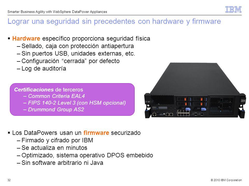 Lograr una seguridad sin precedentes con hardware y firmware