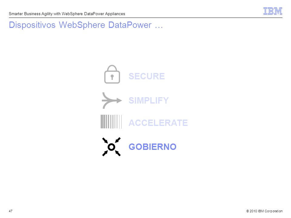 Dispositivos WebSphere DataPower …