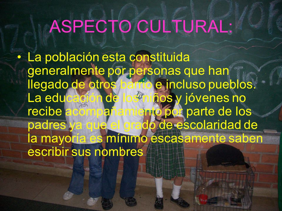 ASPECTO CULTURAL: