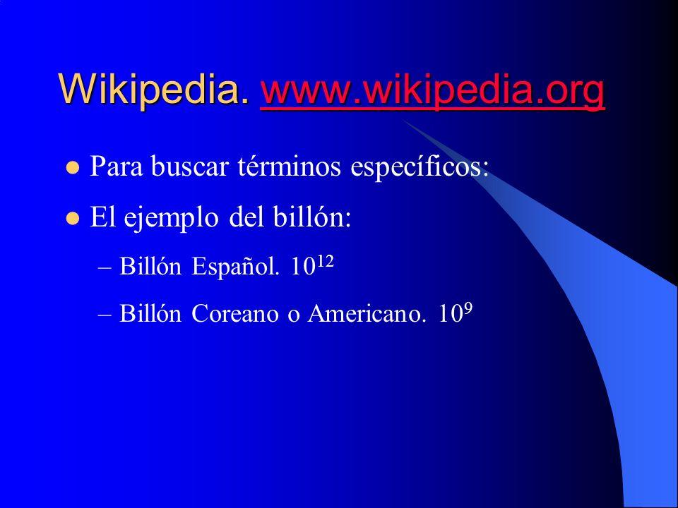 Wikipedia. www.wikipedia.org