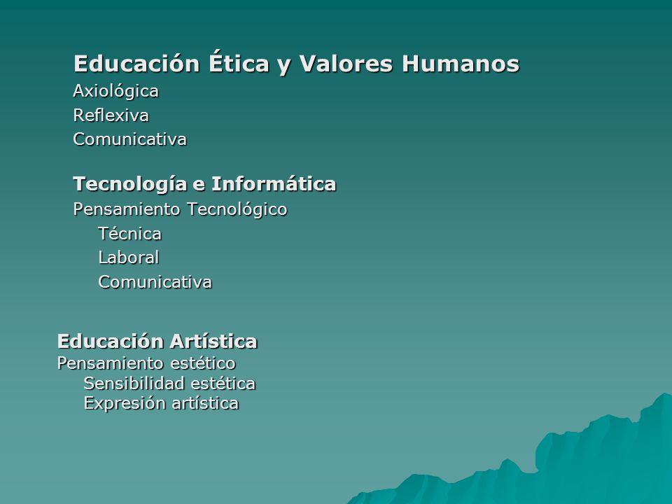 Educación Ética y Valores Humanos