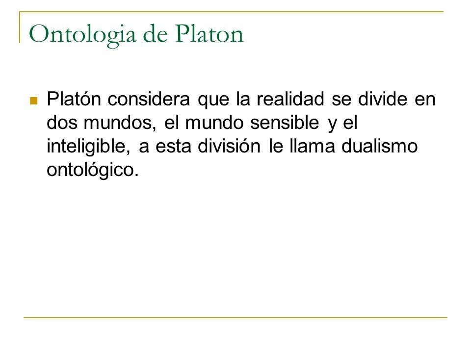 Ontologia de Platon