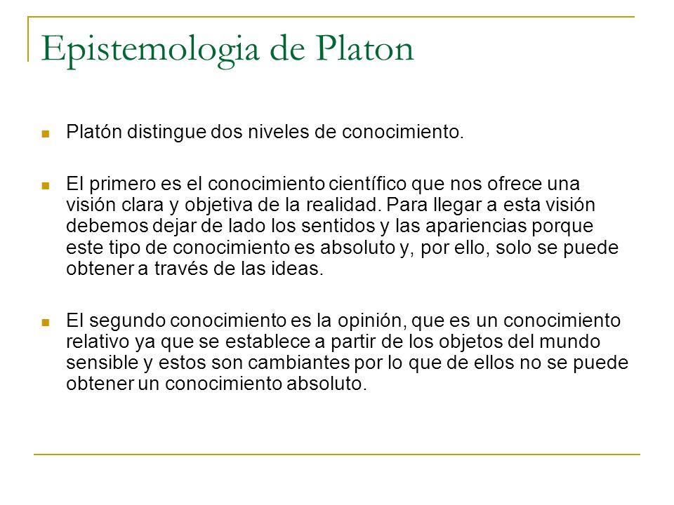 Epistemologia de Platon