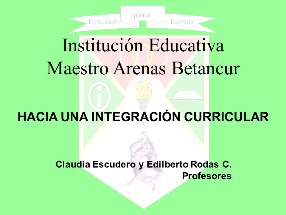 Institución Educativa Maestro Arenas Betancur