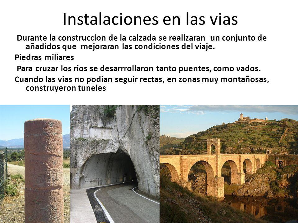 Instalaciones en las vias