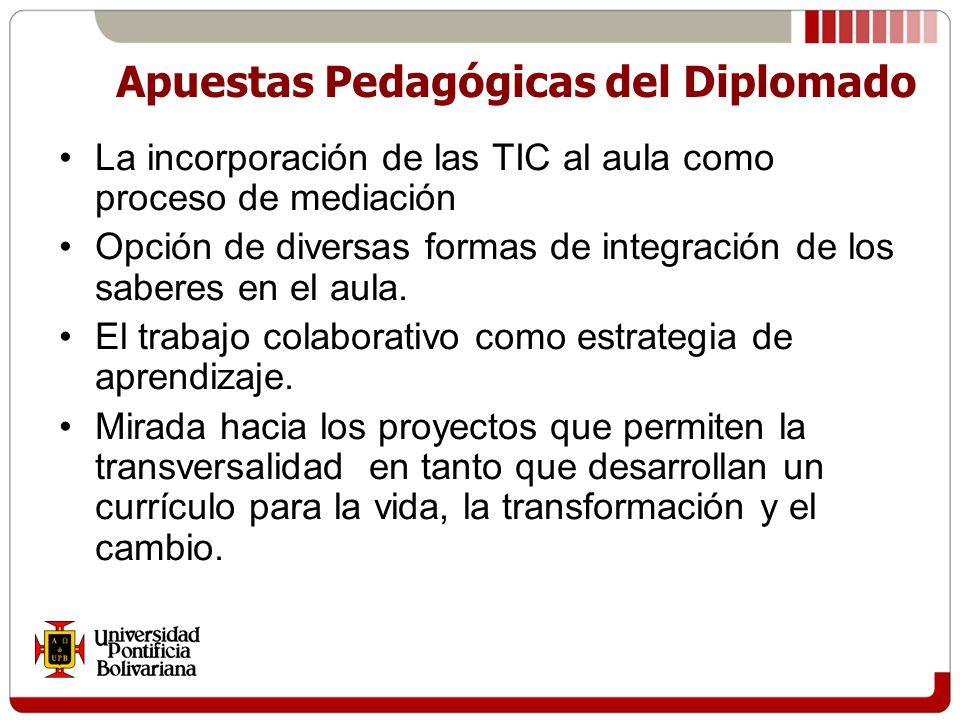 Apuestas Pedagógicas del Diplomado