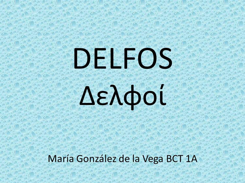 María González de la Vega BCT 1A