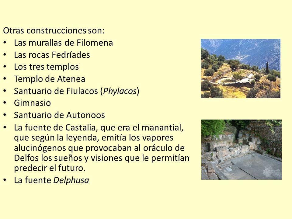 Otras construcciones son: