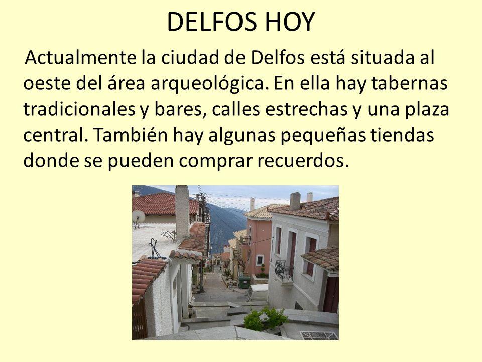DELFOS HOY