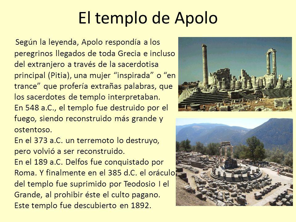 El templo de Apolo