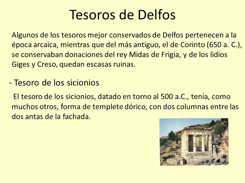 Tesoros de Delfos - Tesoro de los sicionios