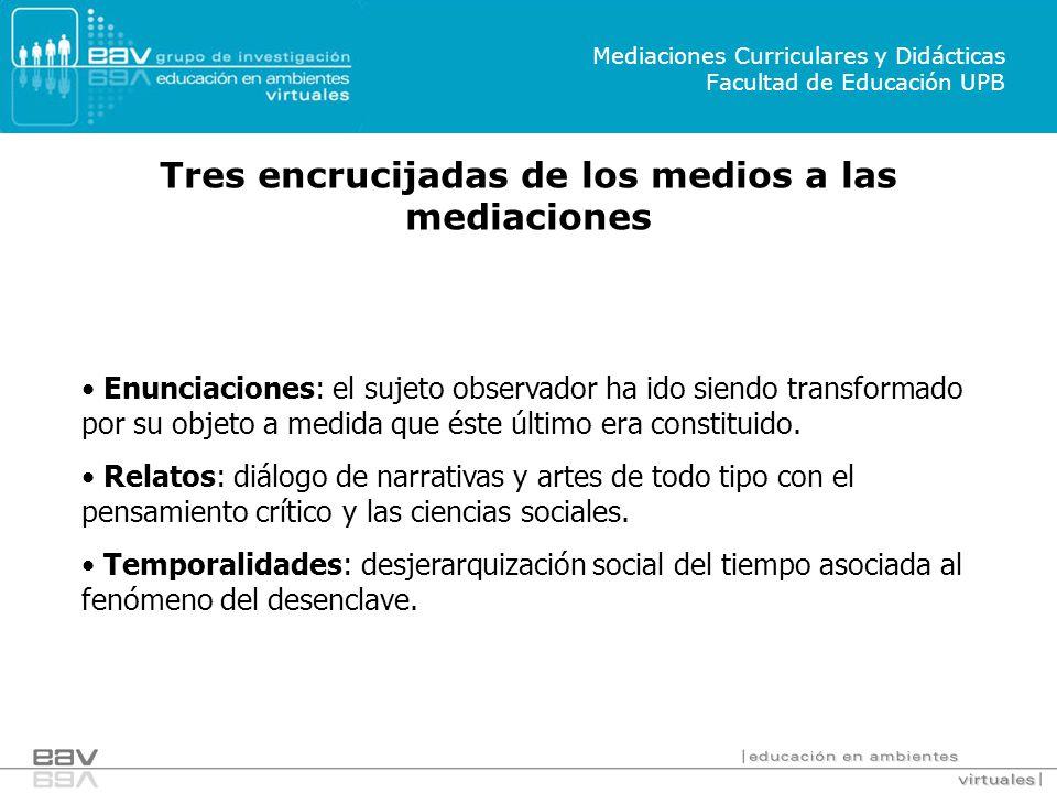 Mediaciones Curriculares y Didácticas Facultad de Educación UPB
