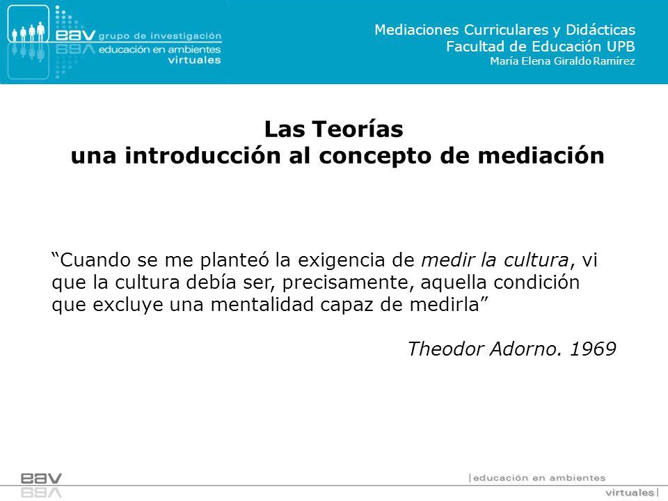 una introducción al concepto de mediación