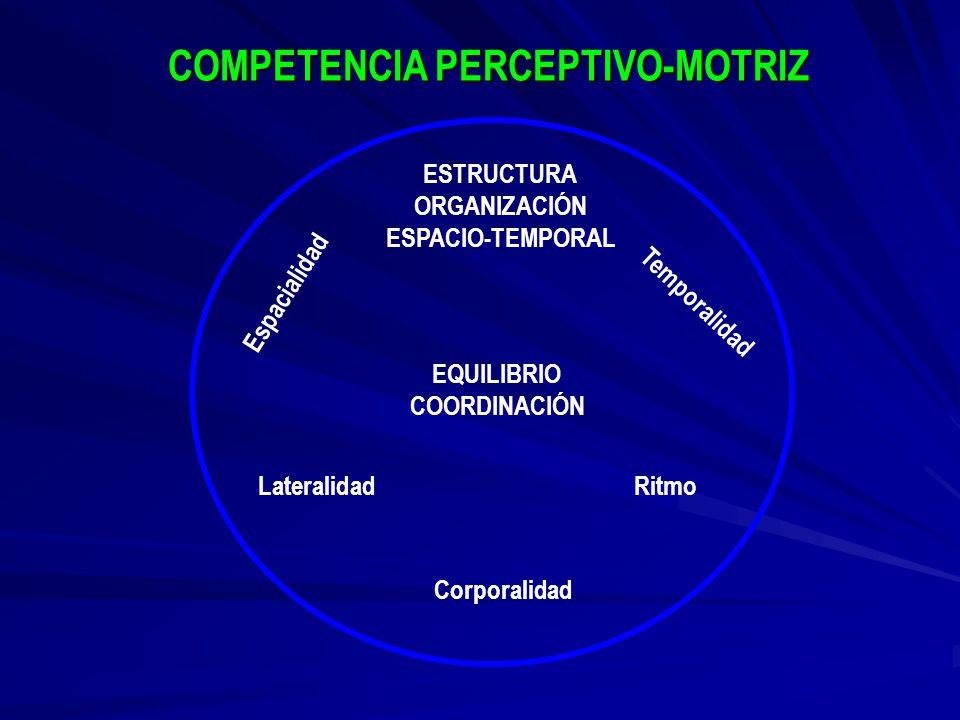 COMPETENCIA PERCEPTIVO-MOTRIZ