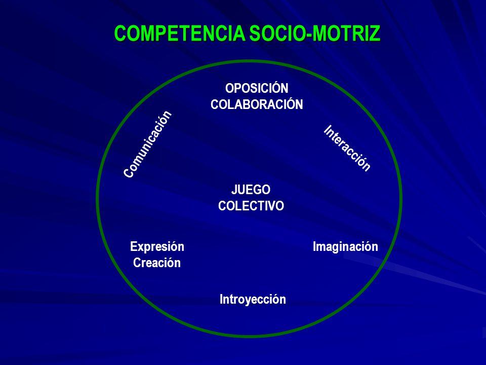 COMPETENCIA SOCIO-MOTRIZ
