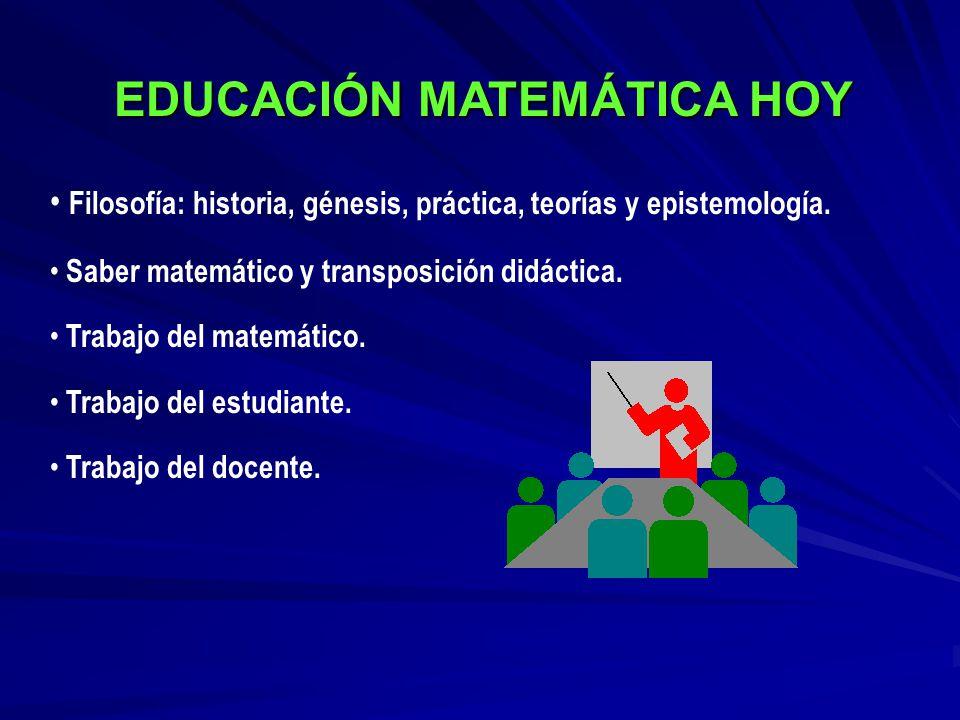 EDUCACIÓN MATEMÁTICA HOY