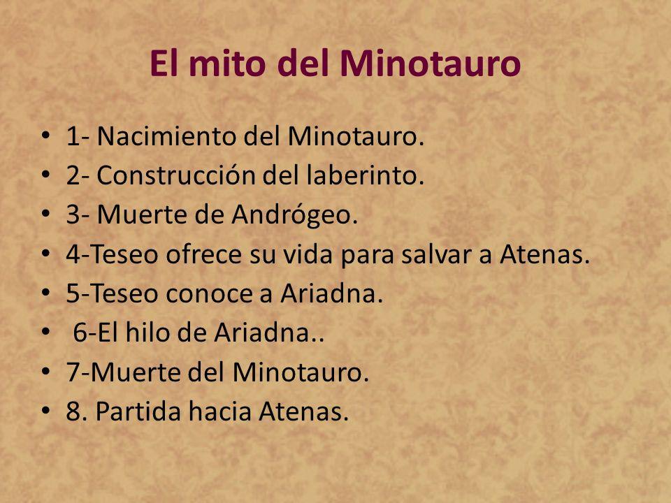 El mito del Minotauro 1- Nacimiento del Minotauro.