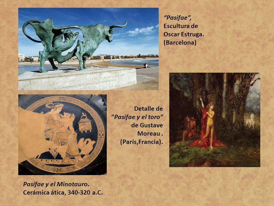 Pasifae , Escultura de Oscar Estruga.