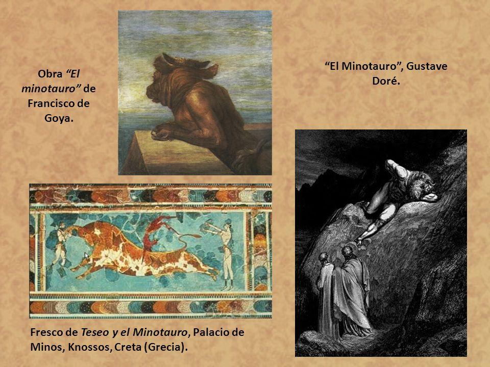 El Minotauro , Gustave Doré.