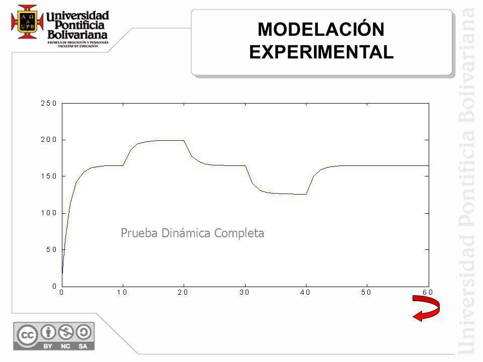 MODELACIÓN EXPERIMENTAL