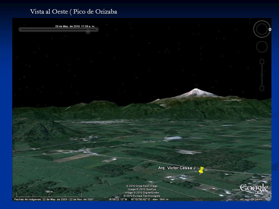 Vista al Oeste ( Pico de Orizaba