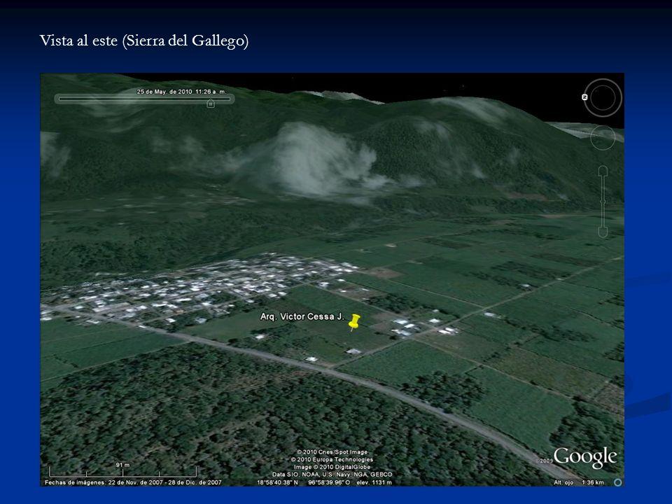 Vista al este (Sierra del Gallego)