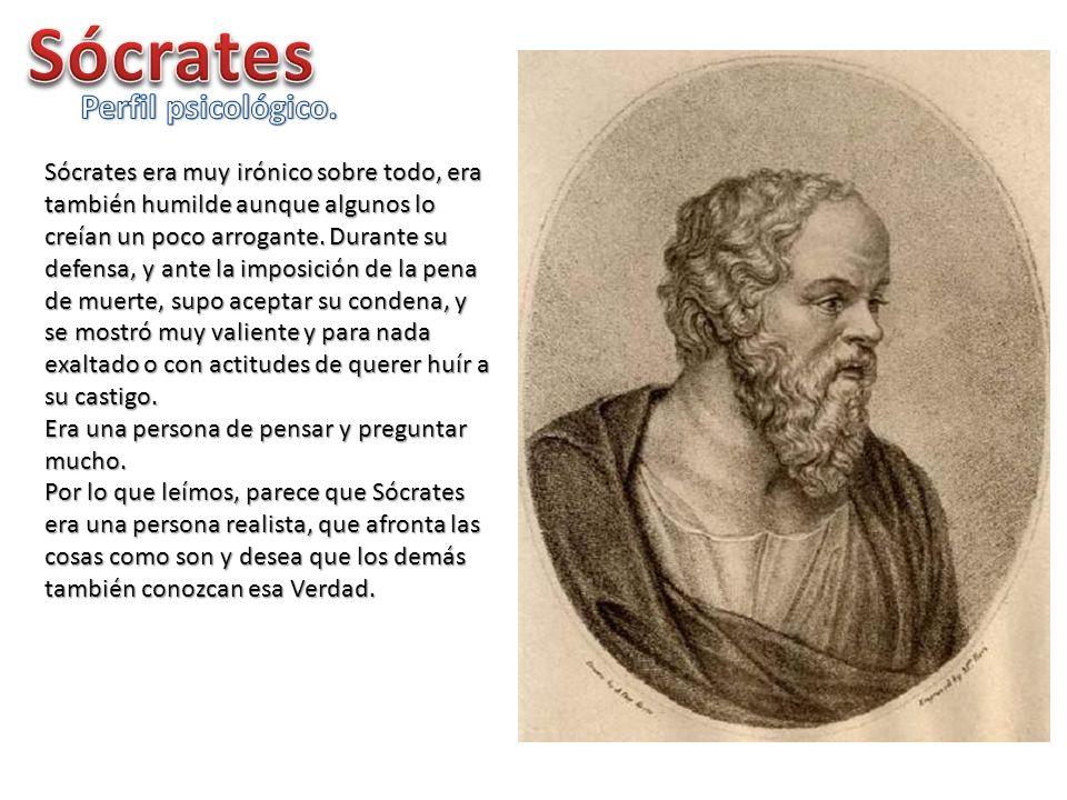 Sócrates Perfil psicológico.