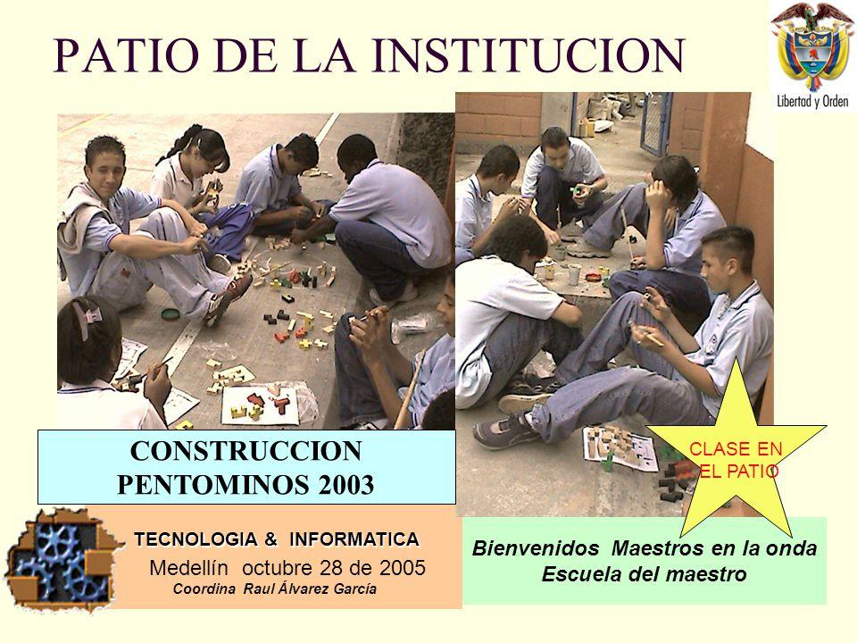 PATIO DE LA INSTITUCION