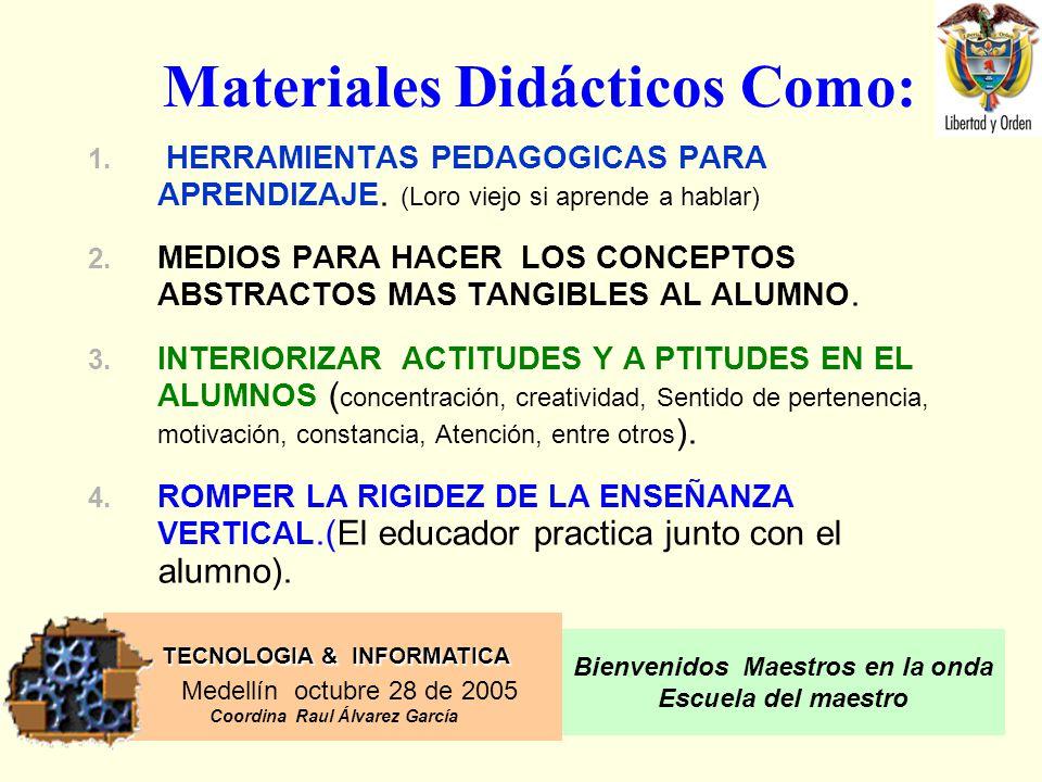Materiales Didácticos Como: