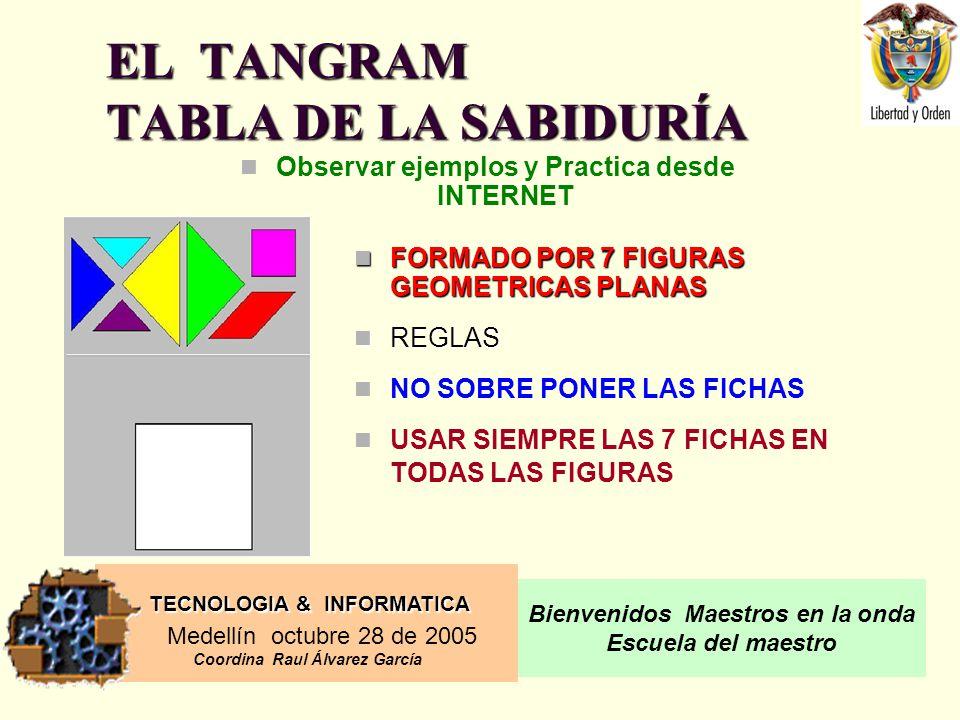 EL TANGRAM TABLA DE LA SABIDURÍA