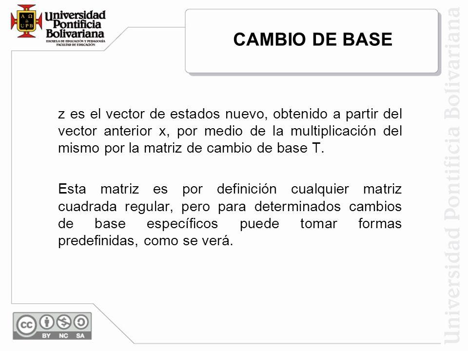 CAMBIO DE BASE