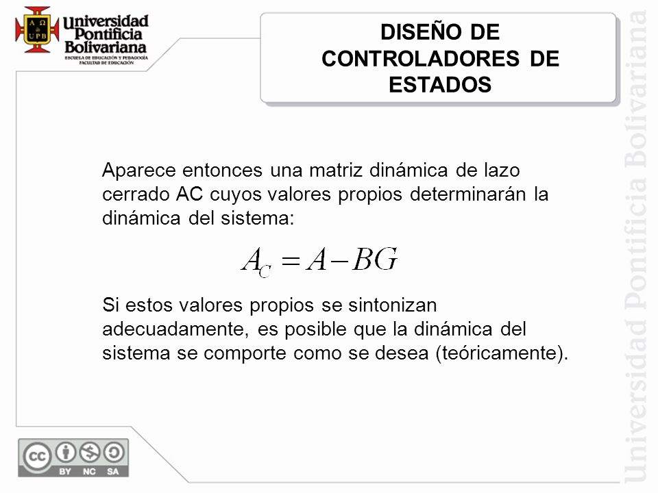 DISEÑO DE CONTROLADORES DE ESTADOS