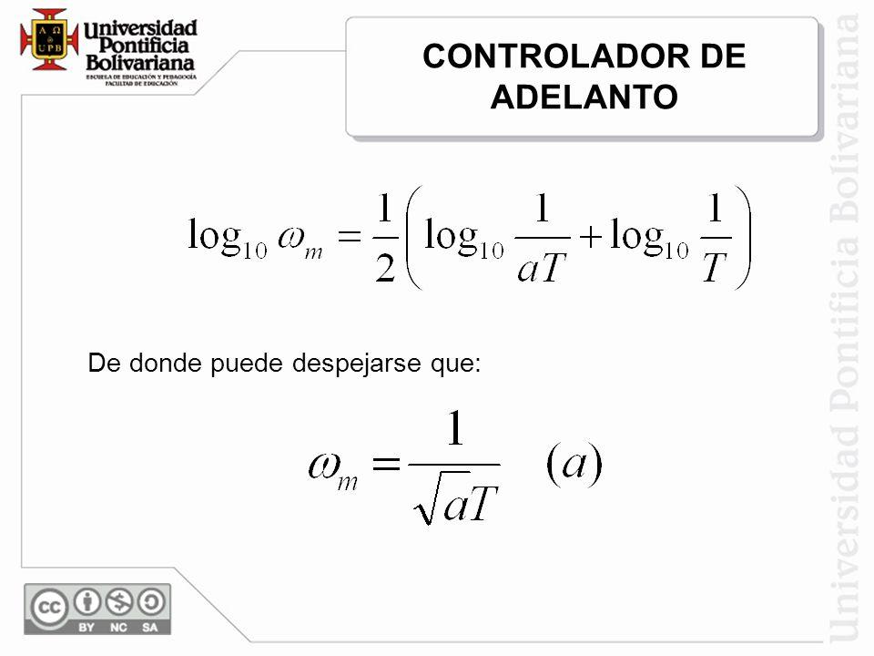CONTROLADOR DE ADELANTO