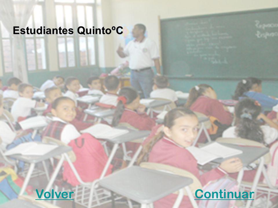 Estudiantes QuintoºC Volver Continuar