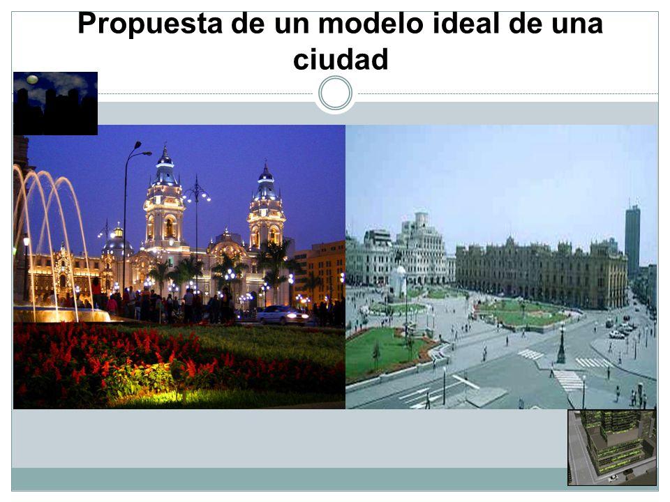 Propuesta de un modelo ideal de una ciudad