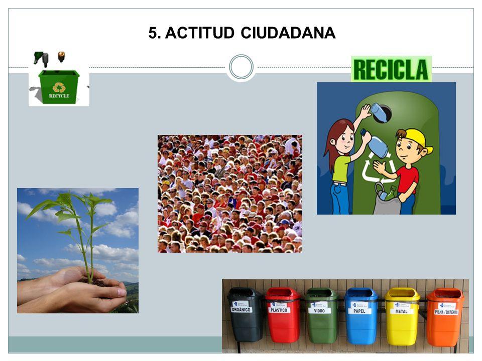 5. ACTITUD CIUDADANA