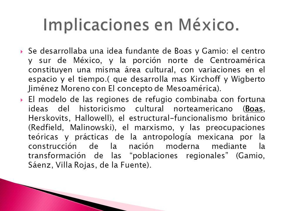 Implicaciones en México.