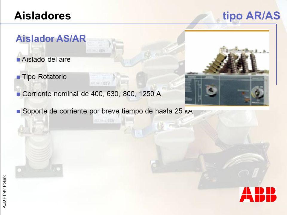 Aisladores tipo AR/AS Aislador AS/AR Aislado del aire Tipo Rotatorio