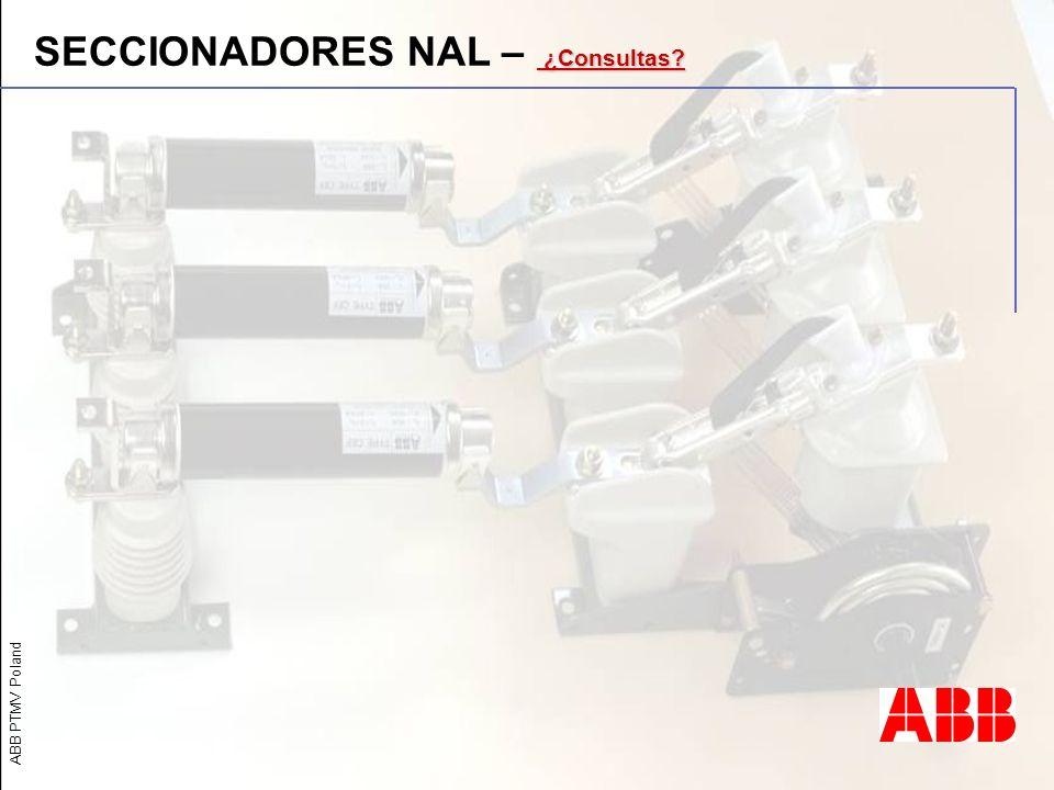 SECCIONADORES NAL – ¿Consultas