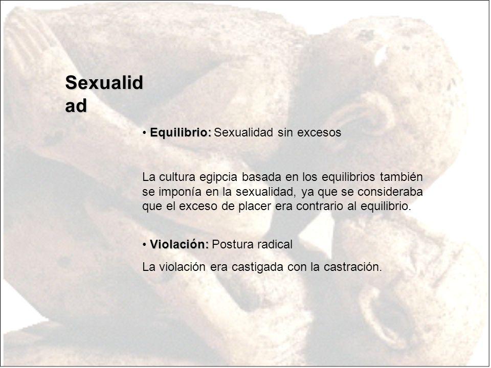 Sexualidad Equilibrio: Sexualidad sin excesos