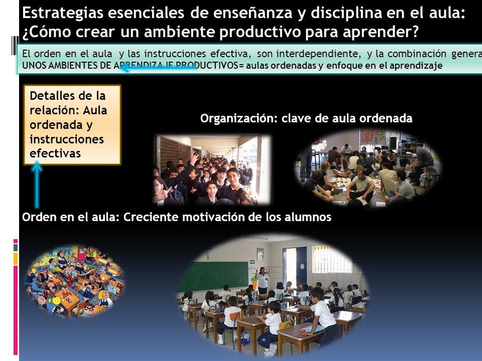 Estrategias esenciales de enseñanza y disciplina en el aula: ¿Cómo crear un ambiente productivo para aprender