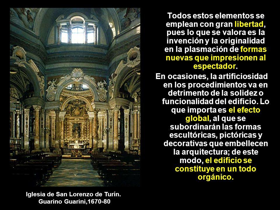 Iglesia de San Lorenzo de Turín.