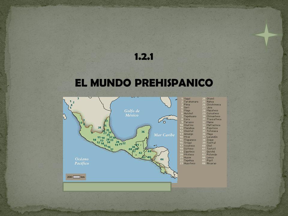 1.2.1 EL MUNDO PREHISPANICO