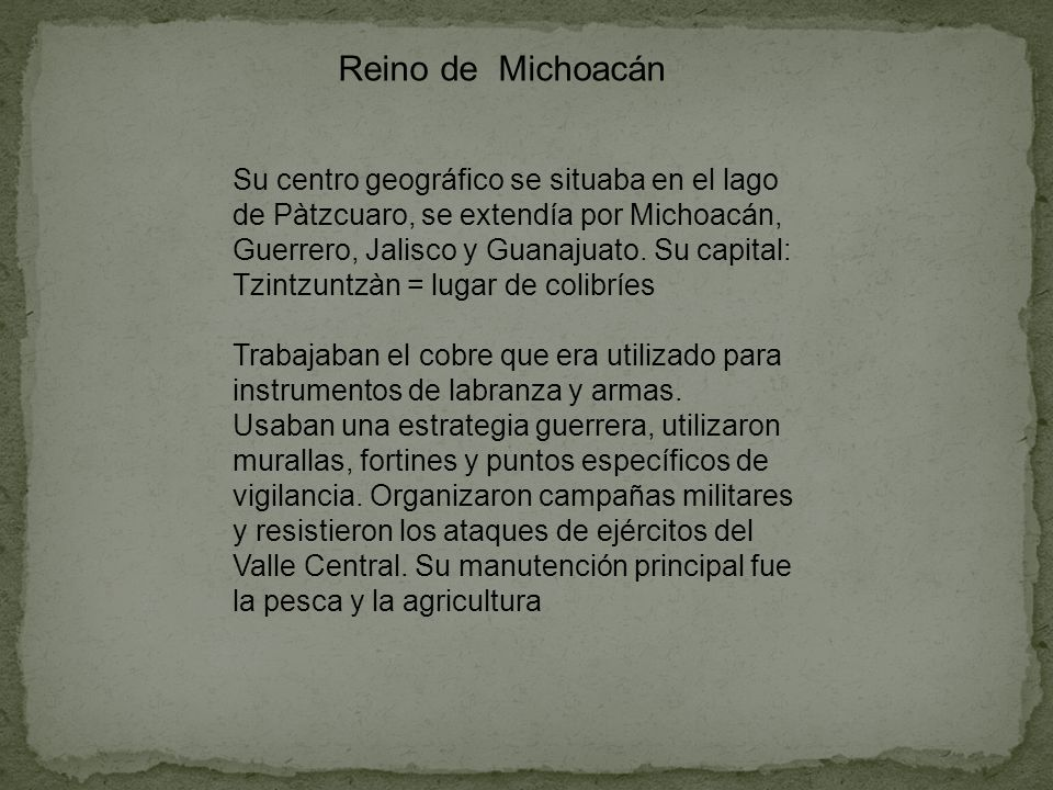 Reino de Michoacán