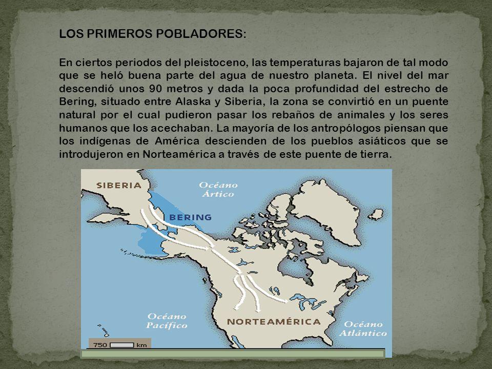 LOS PRIMEROS POBLADORES: