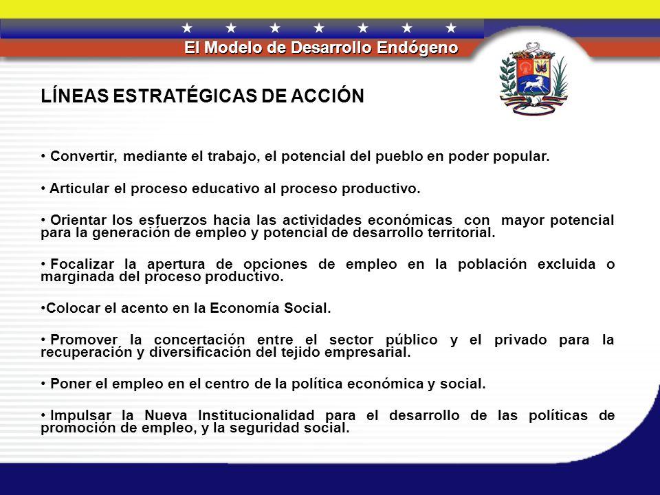 LÍNEAS ESTRATÉGICAS DE ACCIÓN