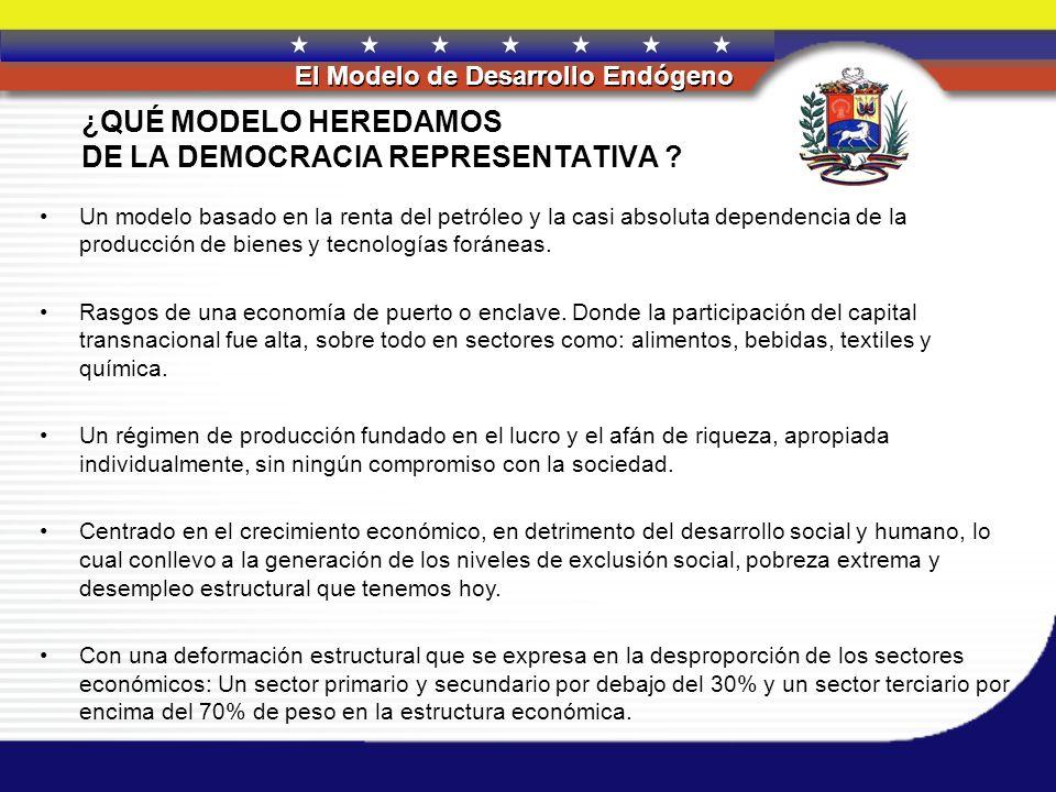 DE LA DEMOCRACIA REPRESENTATIVA