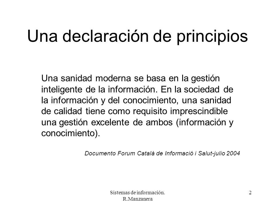 Una declaración de principios