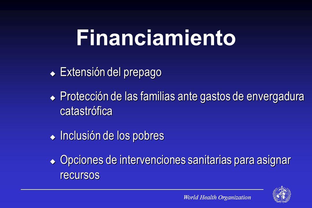 Financiamiento Extensión del prepago